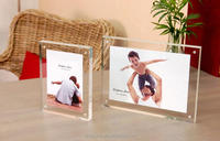 clear acrylic display picture photo frame ,4x6,5x7 frames