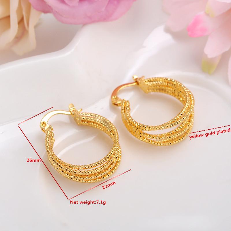 Indian Gold Jhumka Earring Fancy Desig African Gold Jewelry - Buy ...