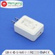 White color usb charger with efficiency vi CE FCC ROHS UL CB GS PSE Certificates