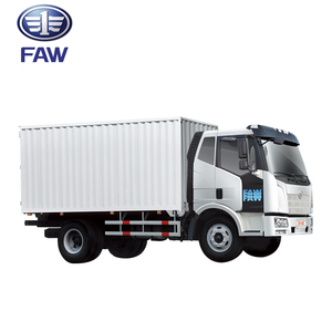 FAW J6L 4x2 luggage carrier cargo truck for sale