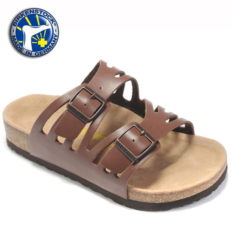 eccf6a25e68 Get Quotations · Factory Outlet 2015 New Birkenstock Sandals Leather  Birkenstock Granada Sandals Men