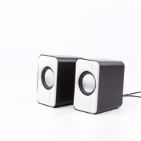 Mini Portable USB Wired 2.0 Audio Desktop Computer Wired Speaker