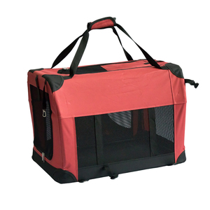Wholesale Custom Eco-Friendly Breathable Portable Soft Crate Pet Carrier Travel Bag Car Seat Carrier