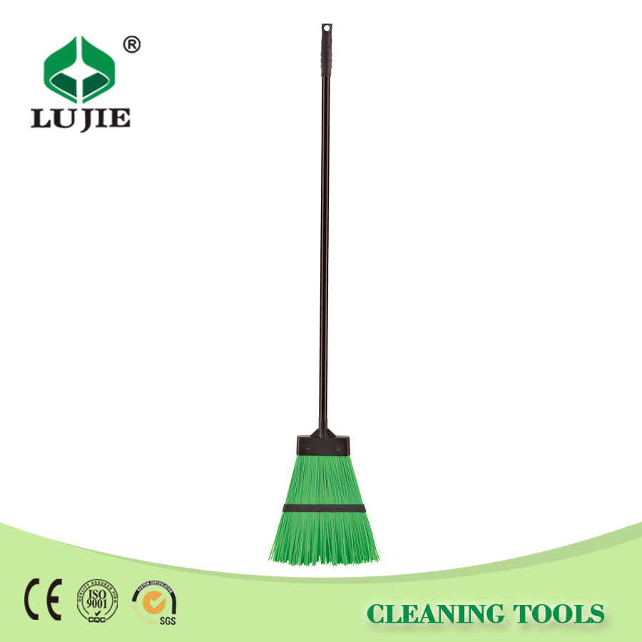 Best price hot selling plastic head garden leaf broom