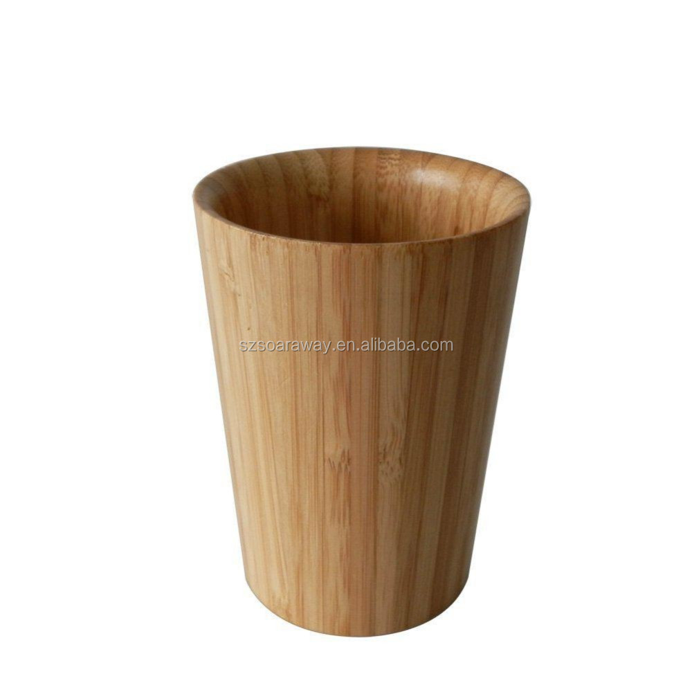 Eco Friendly Bamboo Wholesale Tea Cups Wood Milk Cup
