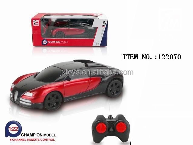 Wholesale 2017 durable 1:22 4 ch plastic toy rc car speed for kids