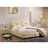 storage leather bed tufted leather buttons, wood double bed designs with box