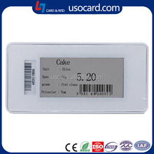 2.13 inch active Electronic e-ink shelf label for Supermarket