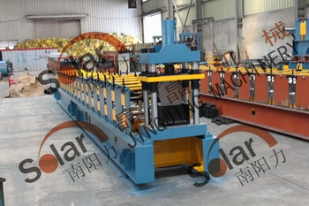 Steel Structure Building Used Gutter Machine Roll Forming