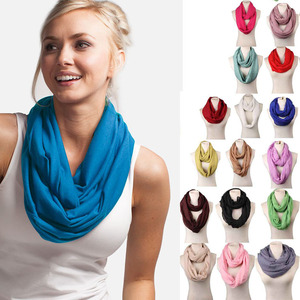 2018 Cheap cotton loops infinity scarf