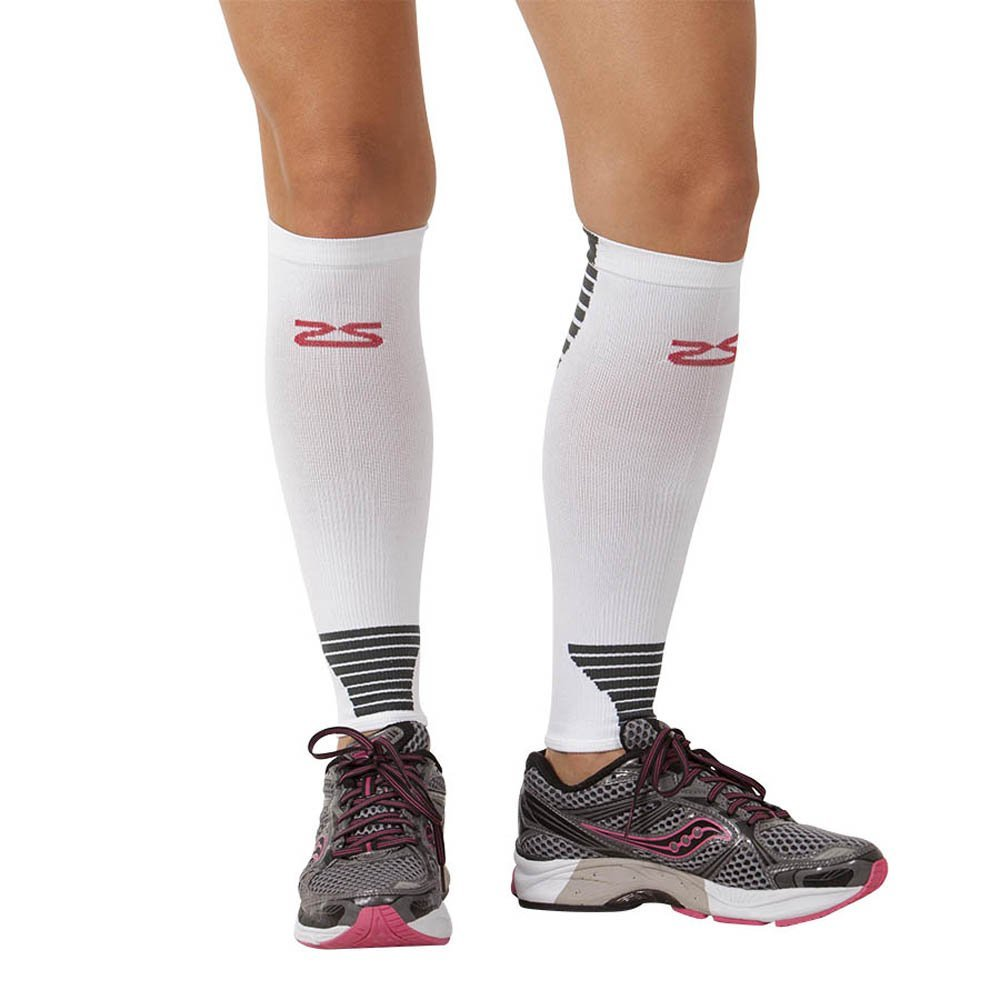 afd3579d81 Get Quotations · Zensah Ultra Compression Leg Sleeves – Calf Compression  Sleeve for Shin Splints for Men, Women