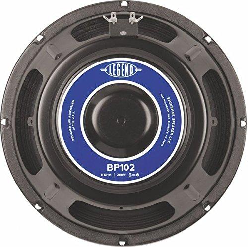 "Eminence Legend BP102 10"" Bass Amplifier Speaker, 400 Watts at 8 Ohms"