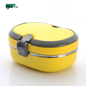 Metal bento lunch box leakproof bento stainless steel lunch box leak proof with compartment stainless steel lunchbox