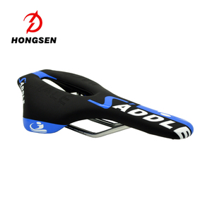 HS-AZ-011 New Style Good Quality Colorful Cool Bicycle Saddle from HONGSEN