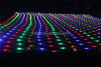 non connectable 110 volt decorative fishing netled mesh lightled christmas lights