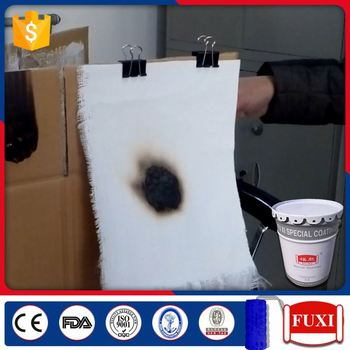 Stainless Steel Structure Fire Resistant Spray Ant Paint Coating For Wood