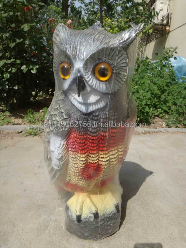 Shandong Zilin VisualScare Bird Repellent/owl hawk/crow decoy
