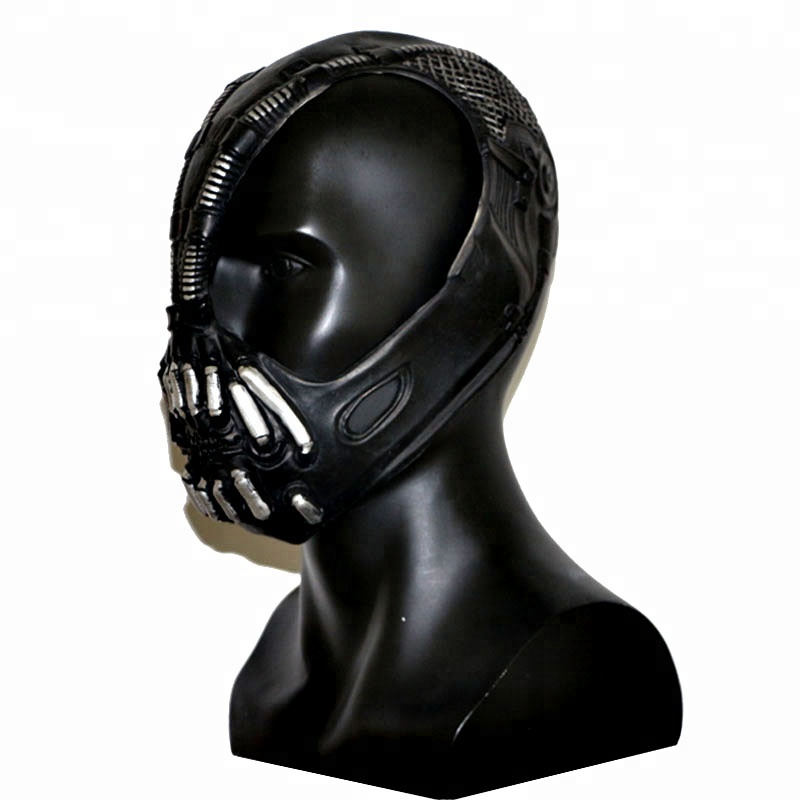 Adulto di Halloween Deluxe Dark Knight Bane maschera In Lattice Su Ordinazione