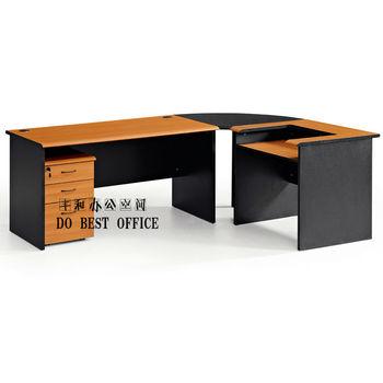 L Shape Desktop Computer Desk With Printer Stand D011 Buy Desktop