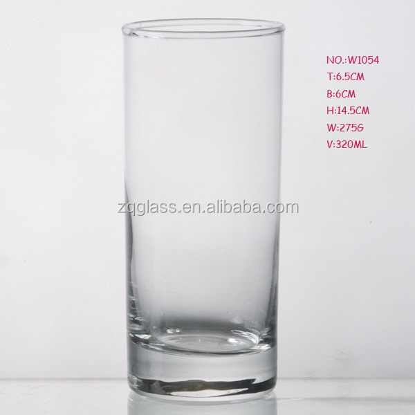320ml Itally Imported Production Line Machine-made Machinemade Machine Blown Promotional Old Fashion Clear HighBall Glass Cup