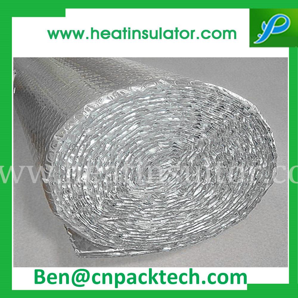 Fireproof Single Side Bubble Foil Insulation Heat Shield
