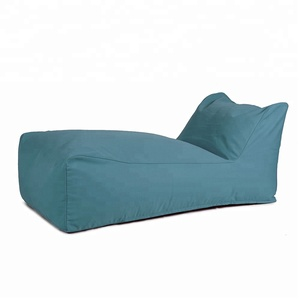 Indoor Outdoor Eco-Friendly Bean Bag Lounge with UV and Water Resistant