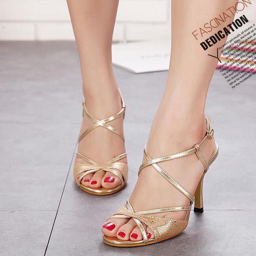 Aliexpress.com : Buy free shipping women sandals gold ...