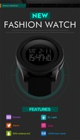 Good Quality Skmei 1142 Skmei Digital Watch Instructions Manual ...