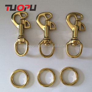 hot selling single swivel zinc alloy steel rotatable snap hook