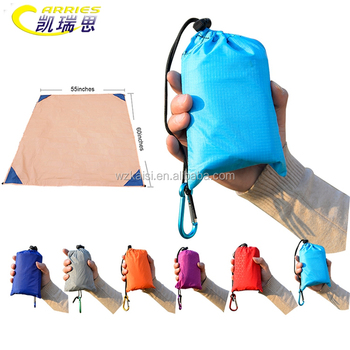 Customize Mini Size Waterproof Picnic Beach Pocket Picnic Mat