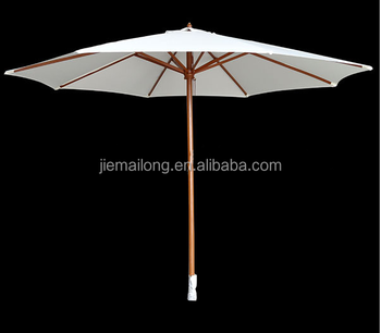 3 Meter Sport Brella Umbrella Event Wooden Frame Beach Sun Garden