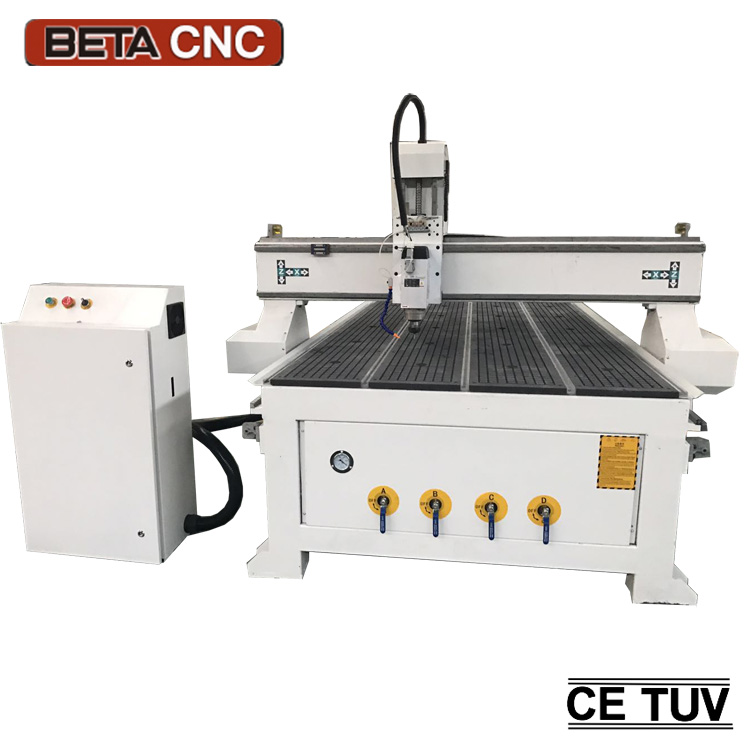 1325 high precision carpet carving wooden button making machine