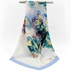 Custom Design Silk Scarf Silk Twill Scarf Women Shawl Warp