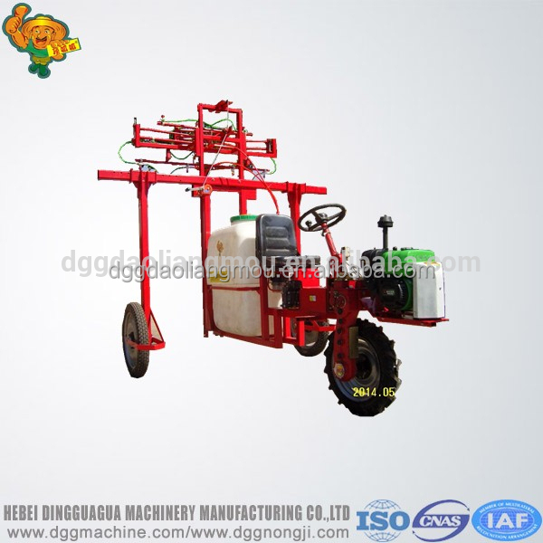 Self propelled Diesel gasoline high clearance boom sprayer