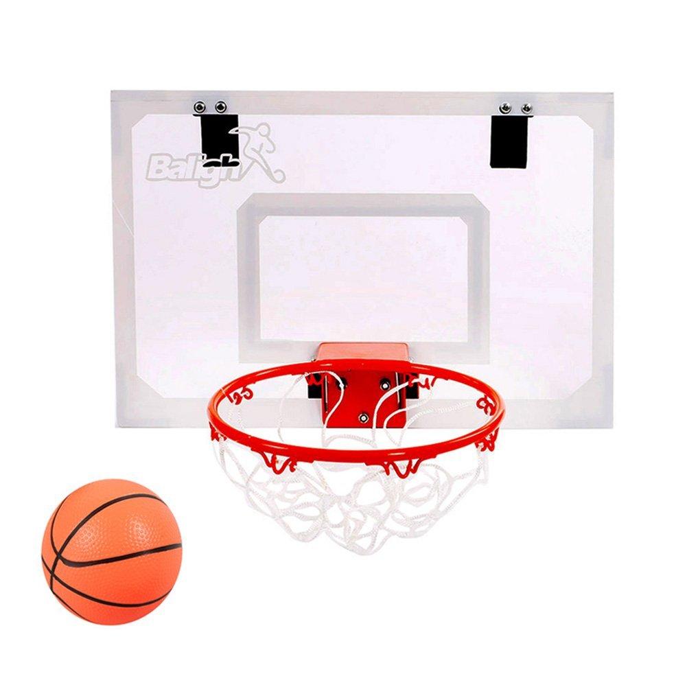 Get Quotations · Balight Indoor Mini Basketball Hoop Over The Door With 1  Mini Basketball And 1 Pump Indoor