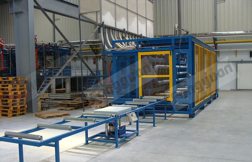 Fangyuan automático de poliestireno eps máquina do bloco de concreto formando