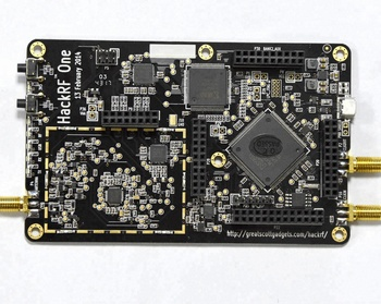 Hackrf One Software Defined Radio Rtl Sdr 0 1mhz To 6 Ghz 8bit Quadrature  For Rf System - Buy Sdr Software Defined Radio Board,Sdr Radio,Hacking