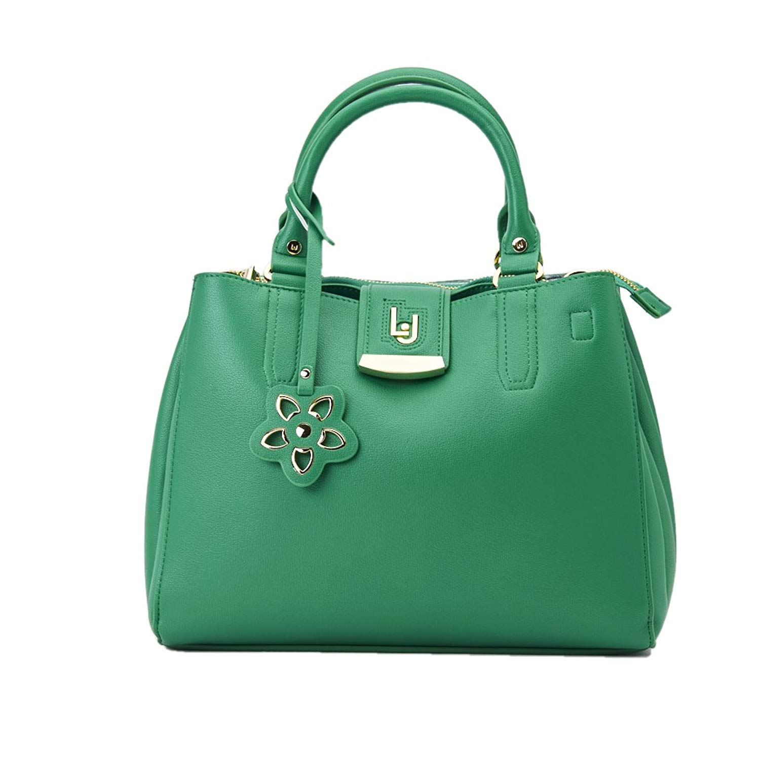 375da9fb90ab Get Quotations · Borsa Bauletto Liu Jo Phoenix Green N18017 E0040