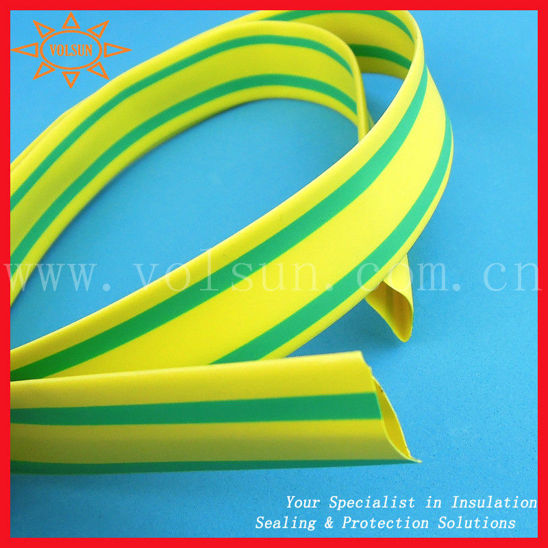 Yellow Green Heat Shrink Tube Yellow And Green Striped Heat Shrink ...