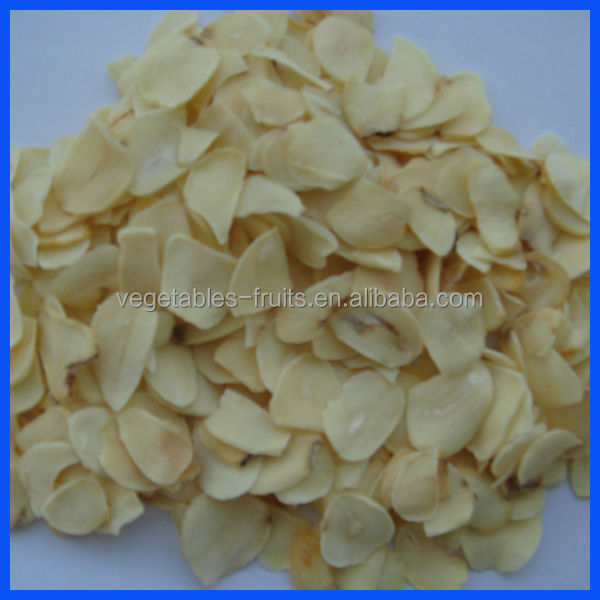 dehydrated garlic flake products