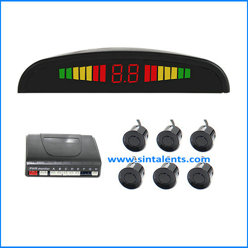 DC 12V Voltage and Parking Sensor Type led parking sensor system car reverse backup radar