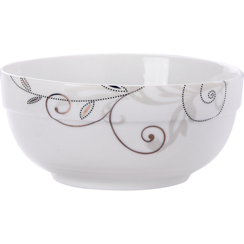 Multi Size Hot Selling Cheap White Ceramic Noodle Bowl