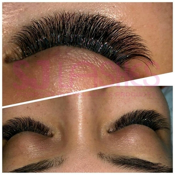 Multi Length In One Row Camellia Lashes Mink Silk Eyelash Extensions