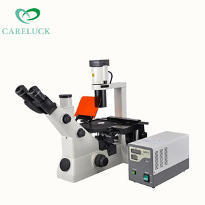 Hot sale inverted fluorescence microscope with good price