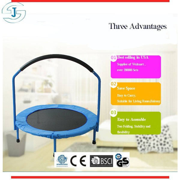 Mini Bungee Kids Trampoline with Handle