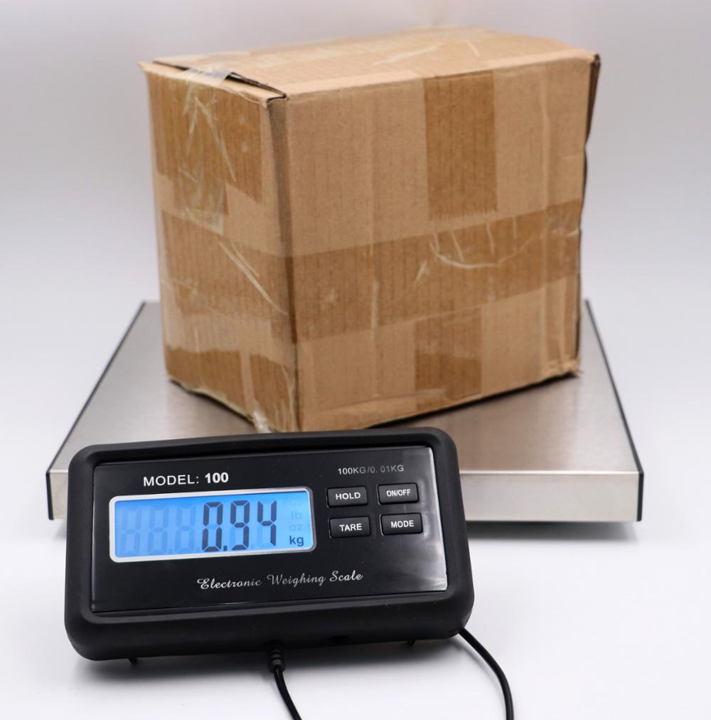 500kg Parcel Pet Weighing Digital Platform Postal Weight Scale