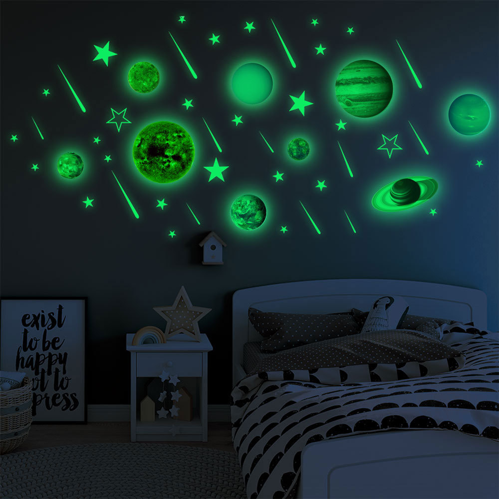Wall Decals Glowing Star For Ceiling