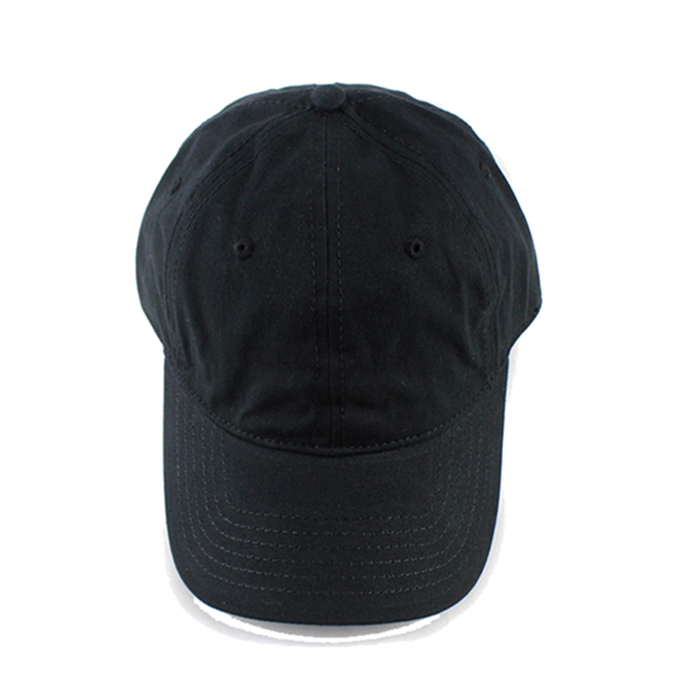 Promotional High Quality Black Caps No Logo Dad Hats Caps - Buy ... df17217b221