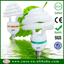 lighting bulbs&tubes umbrella shape 85W 2700K cfl lighting cfl bulb Mixed powder lamp