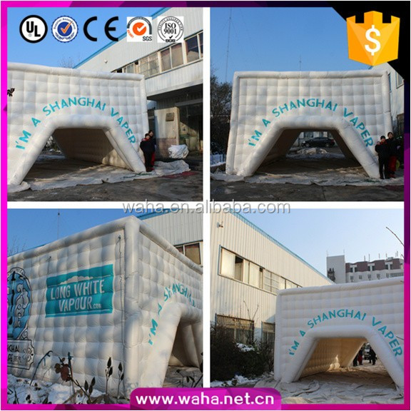 Hot Sale! Sports/Exhibition Advertising Inflatable/Dome Tent/Square Model/Tunnel custom W-10084